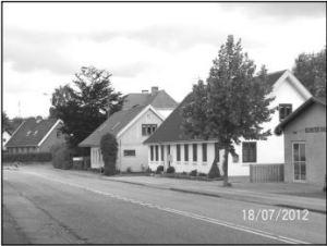Huset Bygaden 81 set fra øst, 2012.