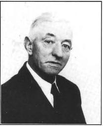 Møller Christian Christensen, der arbejdede i Hansted mølle i en menneskealder.