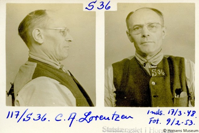 Carl August Lorentzen. Fangefotografi.