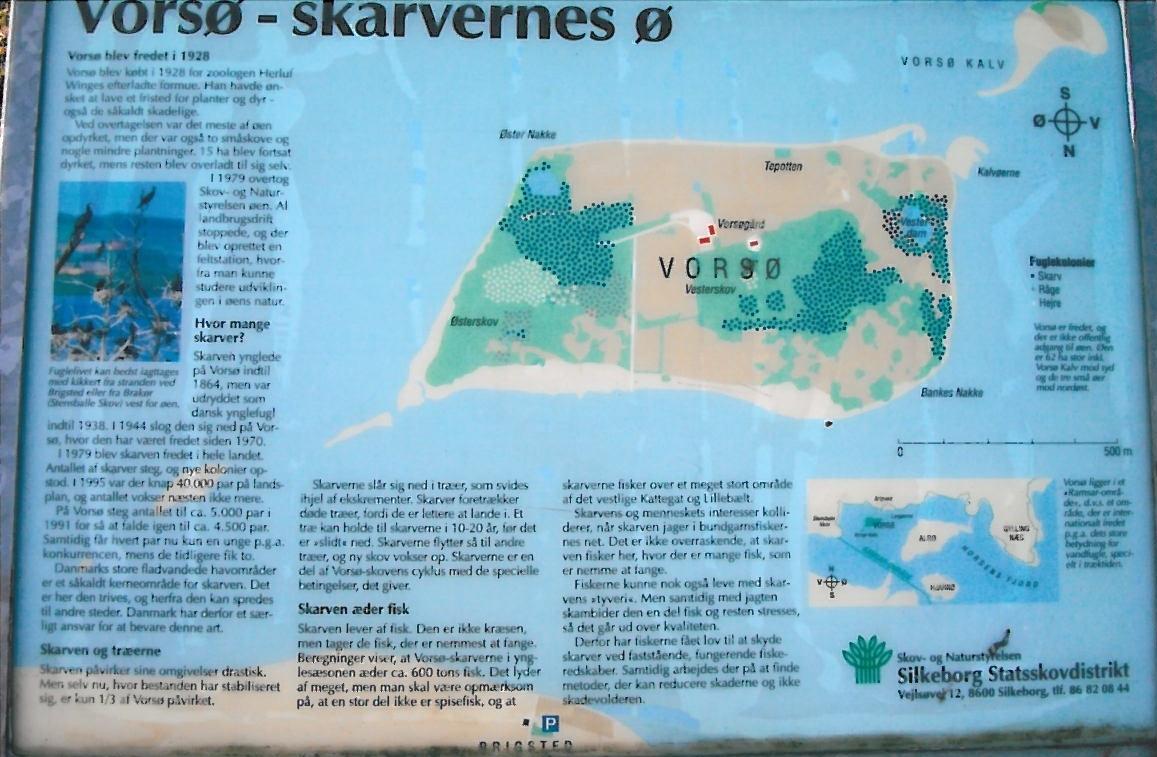 Vors et naturreservat i Horsens Fjord