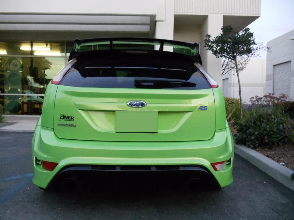 A Mk2 Focus RS is for sale on Ebay in the United States, and it ...