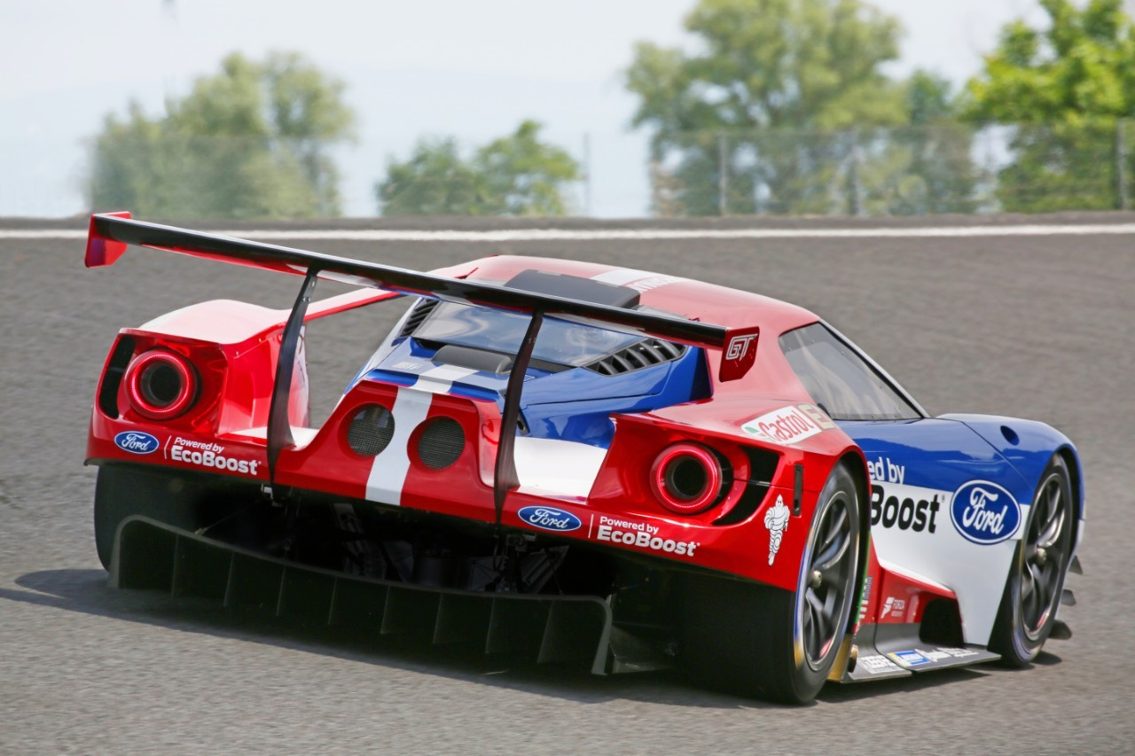 Ford Gt Le Mans Racecar Confirmed To Debut