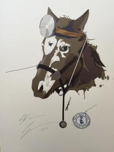 Horse Illustration by Stephen Lobsinger