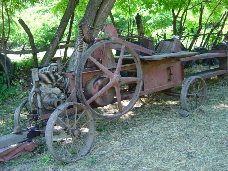 the old baler designed in the 1930s