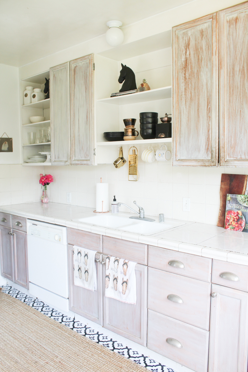 my diy peel stick kitchen floor