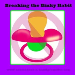 Breaking The Binky Habit