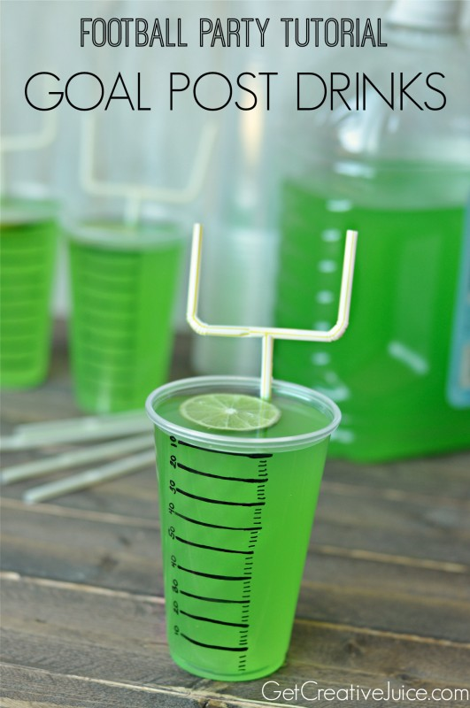 Goal Post Drinks (photo courtesy of Get Creative Juice)