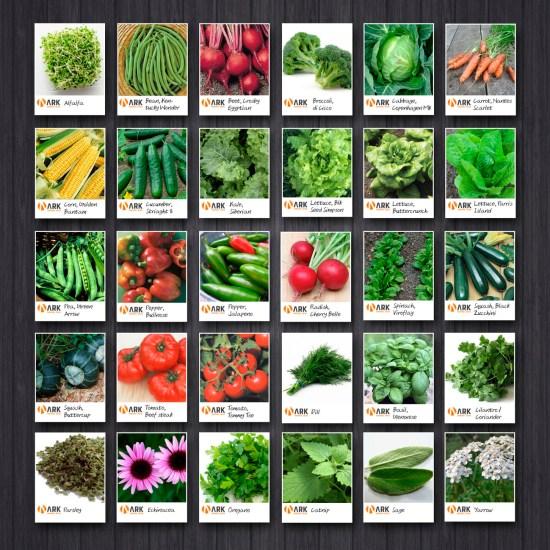 Survival Seed Varieties