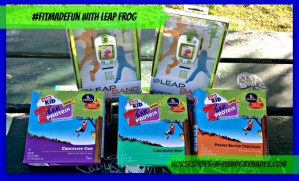 #FitMadeFun With Leap Frog and CLIF Kid
