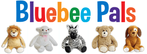 Bluebee Pals Interactive Plush