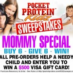 Pocket Protein for Picky Eaters and Kidz On The Go
