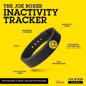 Get Rewarded to Relax With the Joe Boxer Inactivity Tracker