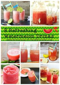 Refreshing Watermelon Drinks
