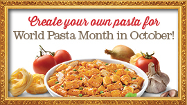 Celebrate World Pasta Month with Bucca di Beppo