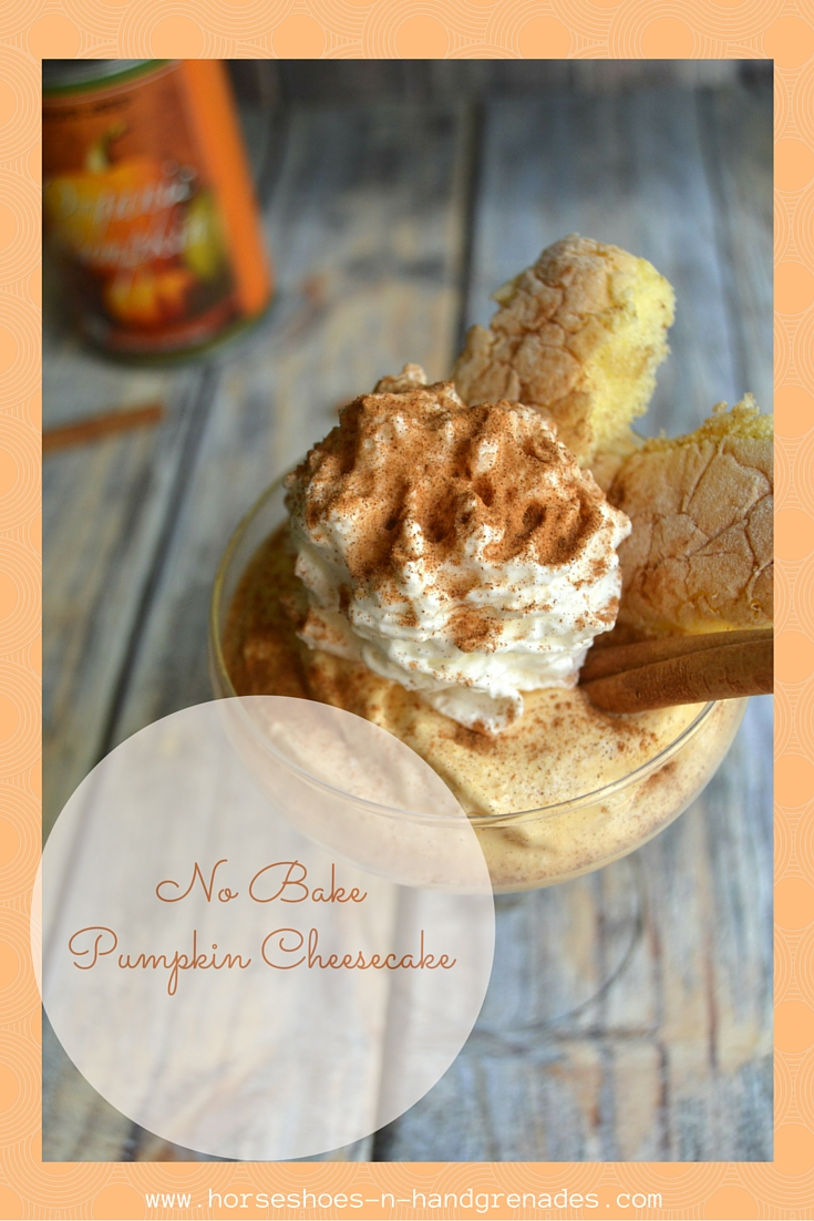 No Bake Pumpkin Cheesecake Dessert