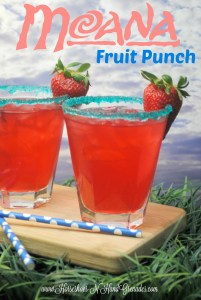 My #DisneyKids Pre-School Playdate & Moana Fruit Punch