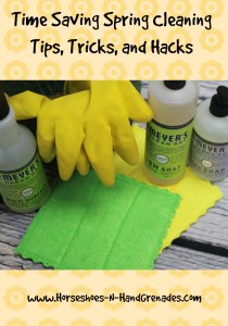 Time Saving Spring Cleaning Tips, Tricks, and Hacks