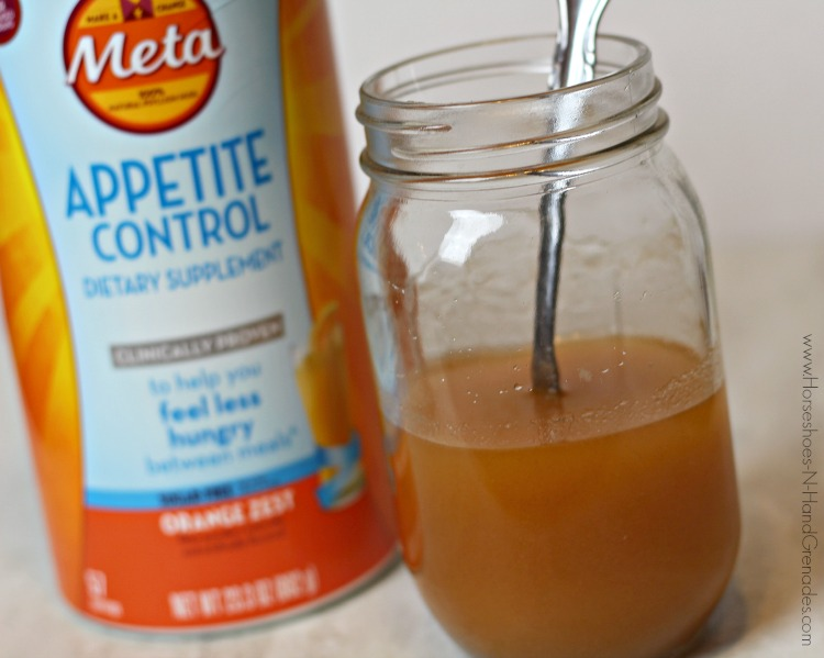 Meta Appetite Control Drink Mixed