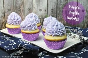 Lavender Vanilla Cupcakes