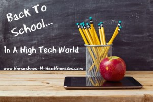 Back To School In A High Tech World