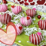Valentine's Day Heart Shaped Cake Treats