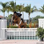 Peter Pletcher and HH London Dominate the Western Hay & Suncoast Bedding First Year Green Working Hunter Championship at the FTI Winter Equestrian Festival.