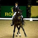 Ravel and Steffen Peters winning the 2009 FEI World Cup Dressage Final.