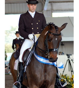 Carlos Munoz and the Piaffe Performance Team Ride to Success at WCD Sunshine Challenge