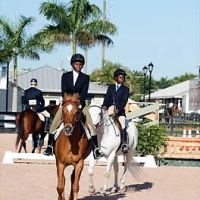 Riders from Chateaublond Equestrian Center competing at PBIEC