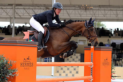 Lauren Hough and Ohlala Win $33,000 Spy Coast Farm 1.45m