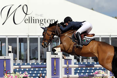 Jessica Springsteen and Vindicat W Shine in $82,000 Suncast 1.50m Championship Jumper Classic