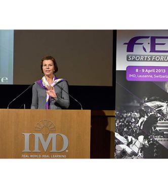 "FEI Sports Forum: Improving Movement of ""Frequent-Flyer"" Horses"