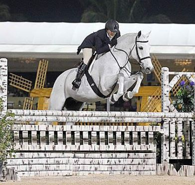 Louise Serio and Derbydown Lead the Way during 2013 Winter Equestrian Festival