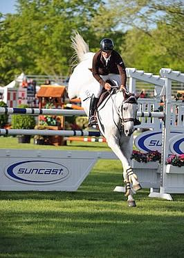 Todd Minikus and Uraguay Speed to Victory in $50,000 Old Salem Farm Grand Prix