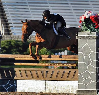 Elizabeth Boyd Takes the Top Three Spots in the USHJA International Hunter Derby