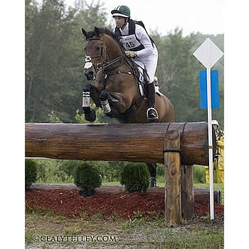 Coleman and Dutton Lead after Cross-Country at the Volvo CCI3* Bromont Three Day Event
