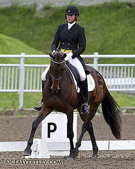 Kieffer and Dutton Dominate Dressage at the Volvo CCI3* Bromont Three Day Event