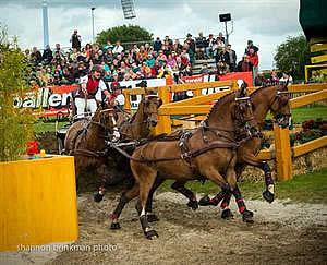 Saturday at CHIO Aachen Ends with Top Placings for Weber, Roffman, as Eventing Wraps Up