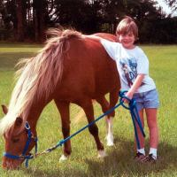 Andi, diagnosed with Wilm's Tumor. Her wish: a miniature horse of her own to love and take care of