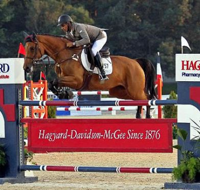 Barrios Launches to Lead in $25,000 Hagyard Lexington Classic at Kentucky Summer Horse Show