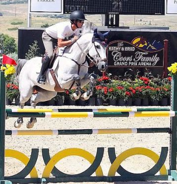 Gamboa Wins 1.30m Open Jumpers for Step by Step Foundation at Summer in the Rockies VI