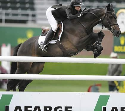 Reed Kessler Gets Her Victory with Wolf S in $50,000 Lafarge Cup 1.50m