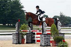 Martin and Doolittle Win Individual Eventing Golds, Area III Takes Two Team Golds at 2013 NAJYRC