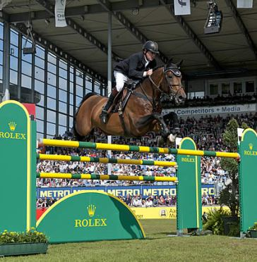 Nick Skelton Wins Rolex Grand Prix at CHIO Aachen and First Stage of Rolex Grand Slam of Show Jumping