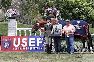 Sommers Claims Overall Grand and Reserve Champion Titles at 2013 US Junior Hunter National Championships – West