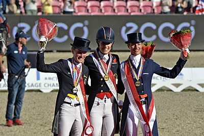 Dujardin Makes It Individual Double Gold with Fabulous Freestyle Victory
