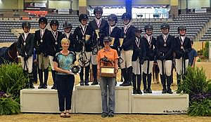 Zone Four Faultless to Earn 2013 Team Championship at the US National Pony Jumper Championships