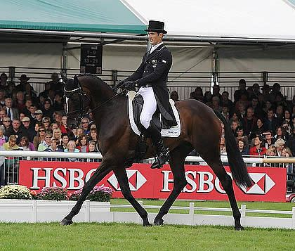 Jock Paget Shows Plenty of Promise at Land Rover Burghley Horse Trials