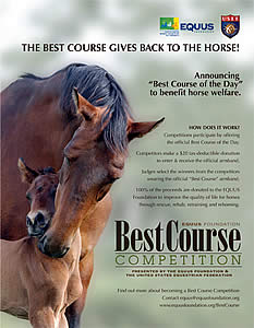 EQUUS Foundation and USEF Announce the Best Course Competition