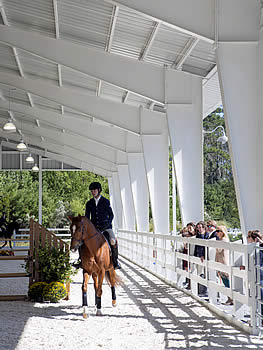 The James & Laurette Shaw Equestrian Pavilion Dedication